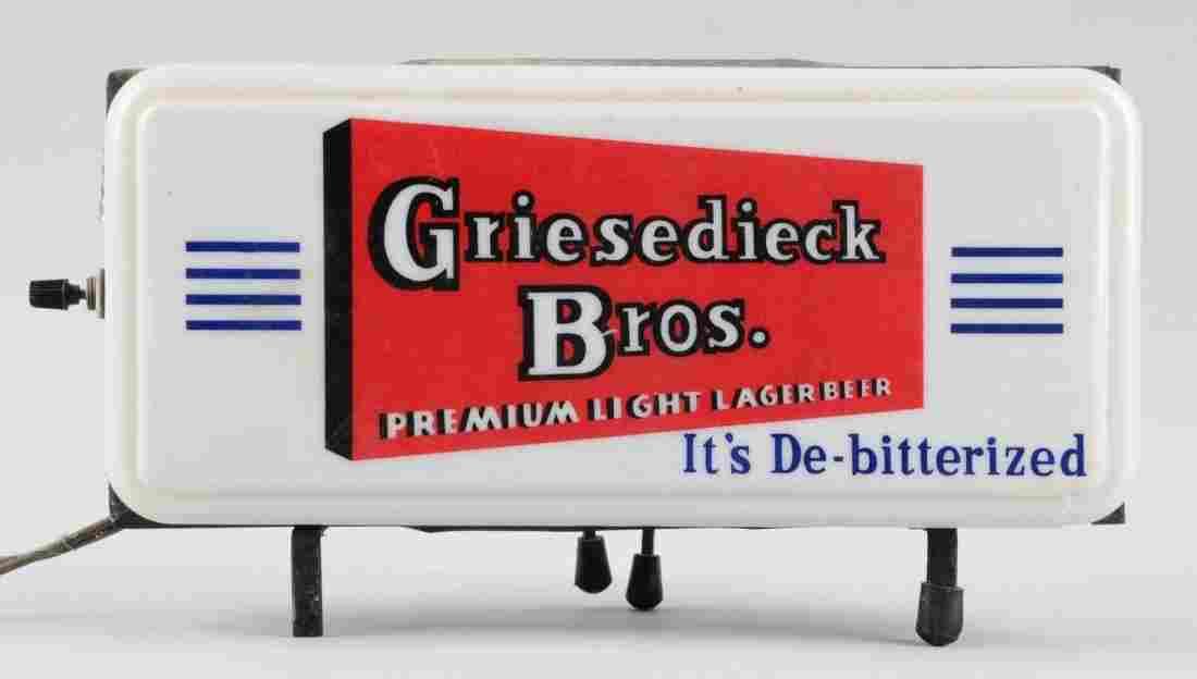 Griesedieck Bros Beer Advertising Display.