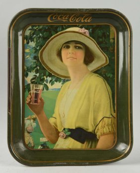 1920 Coca-cola Serving Tray.