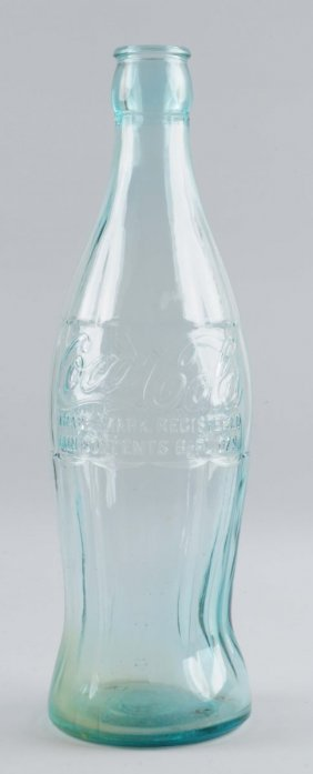 Large Glass Coca-cola Bottle.