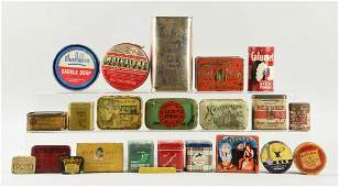 Large Lot Of Assorted Tobacco  General Tins