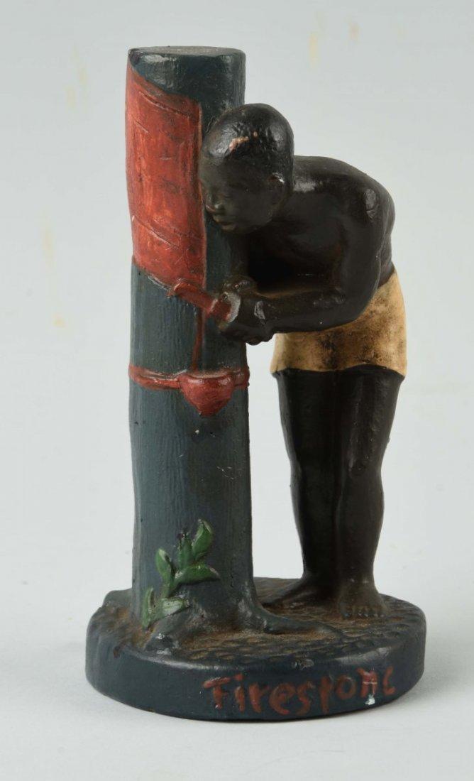 Black African American Figurine.