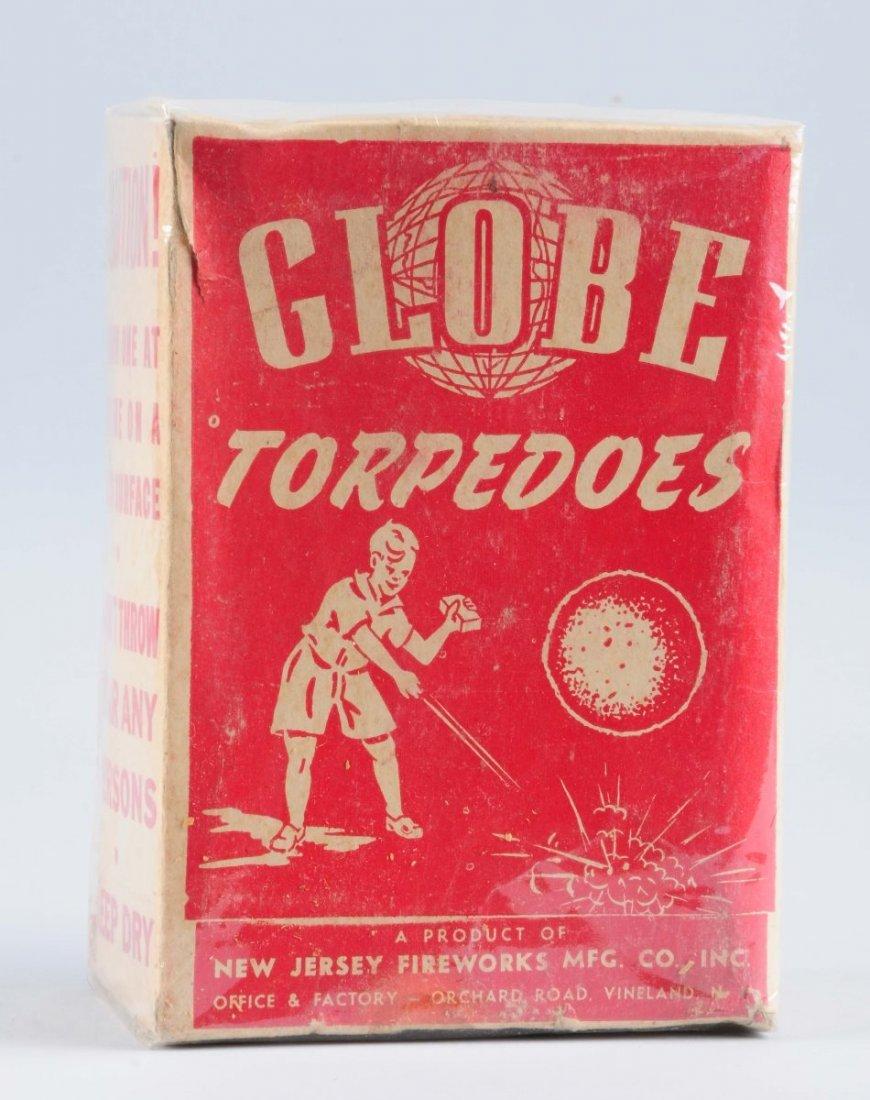 Globe Torpedo Firecrackers.