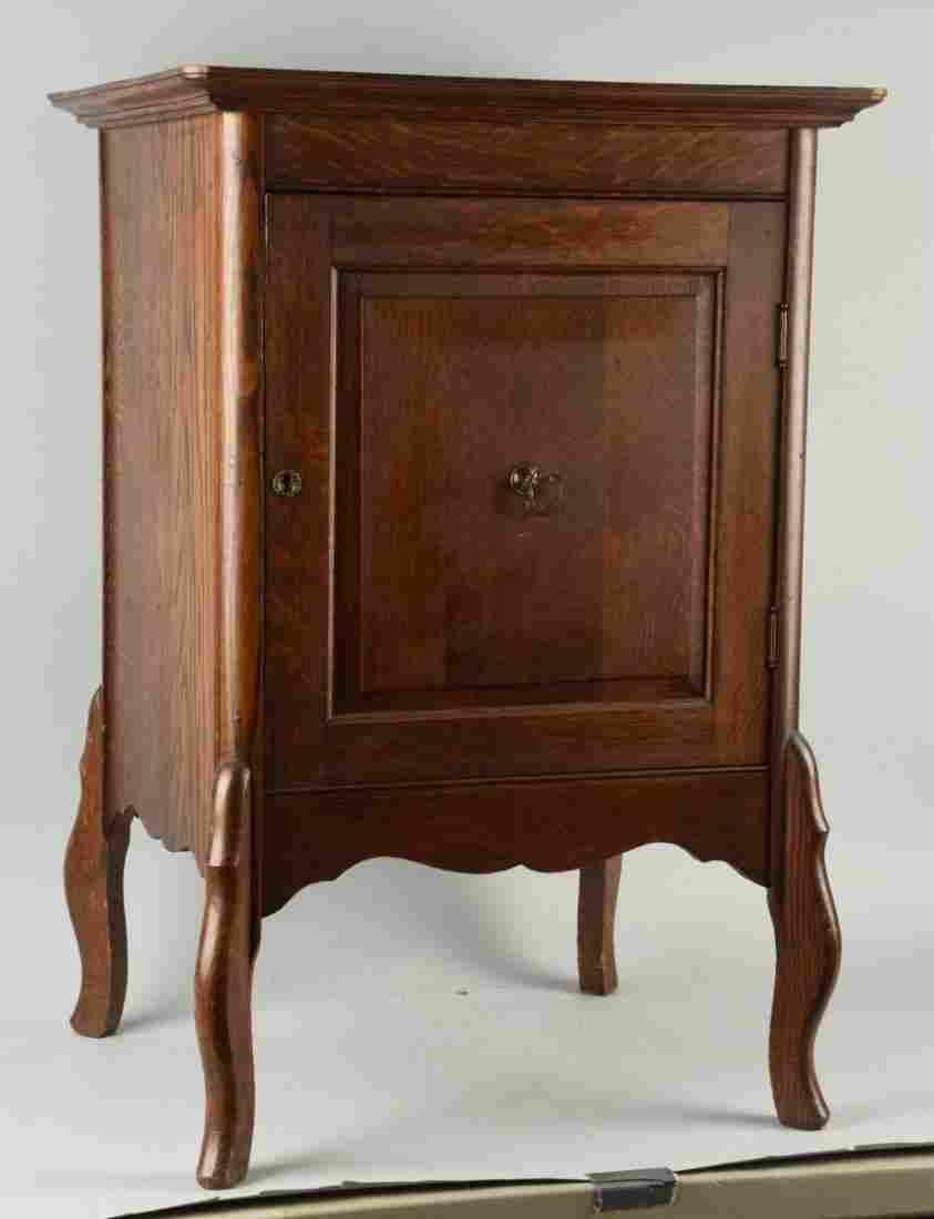 Pine Wooden Stand with Door.