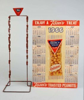 Lot Of 2: Tom's Toasted Peanuts Items.