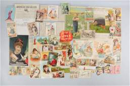 Lot of 30 Agriculture Trade Cards  Paper Pcs