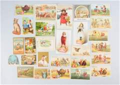 Lot of 15 Soap Related Trade Cards