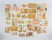 Lot of 20 Soap Related Advertising Trade Cards
