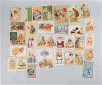 Lot of 20+: Soap Related Advertising Trade Cards.