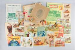 Lot of 20 Agriculture Brochures  Trade Cards