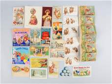 Lot of 20 Oil Related Advertising Trade Cards