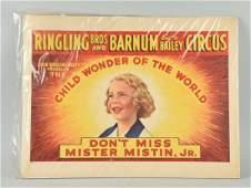 Ringling Bros Barnum Bailey Circus Poster