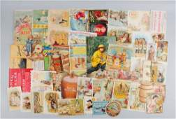 Lot of 30 Flour Related Advertising Trade Cards