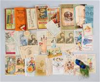 Lot of 20 Agricultural Trade Cards  Brochures