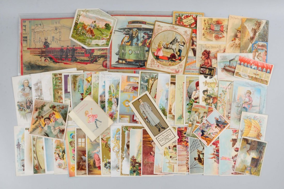 Lot of 30+: Coffee Related Trade Cards.