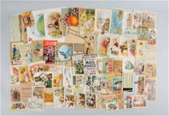 Lot of 20+: Advertising Trade Cards.