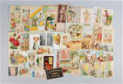 Lot of 20 Advertising Trade Cards