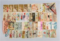 Lot of 20 Assorted Advertising Trade Cards