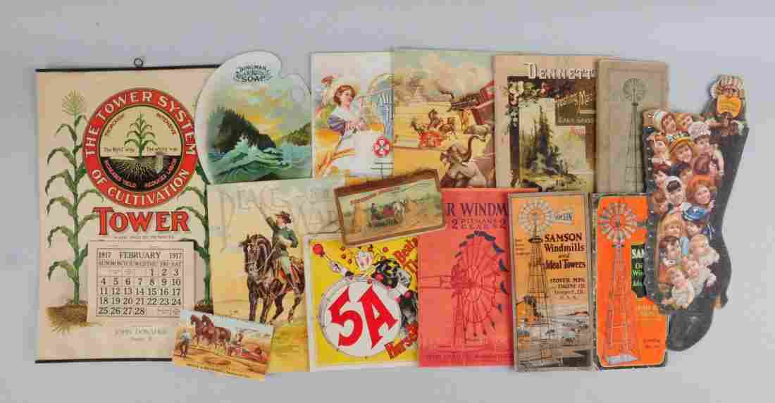 Lot of 10+ Agriculture Related Brochures.