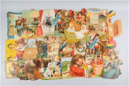 Lot of 20 Assorted Diecut Advertising Pieces