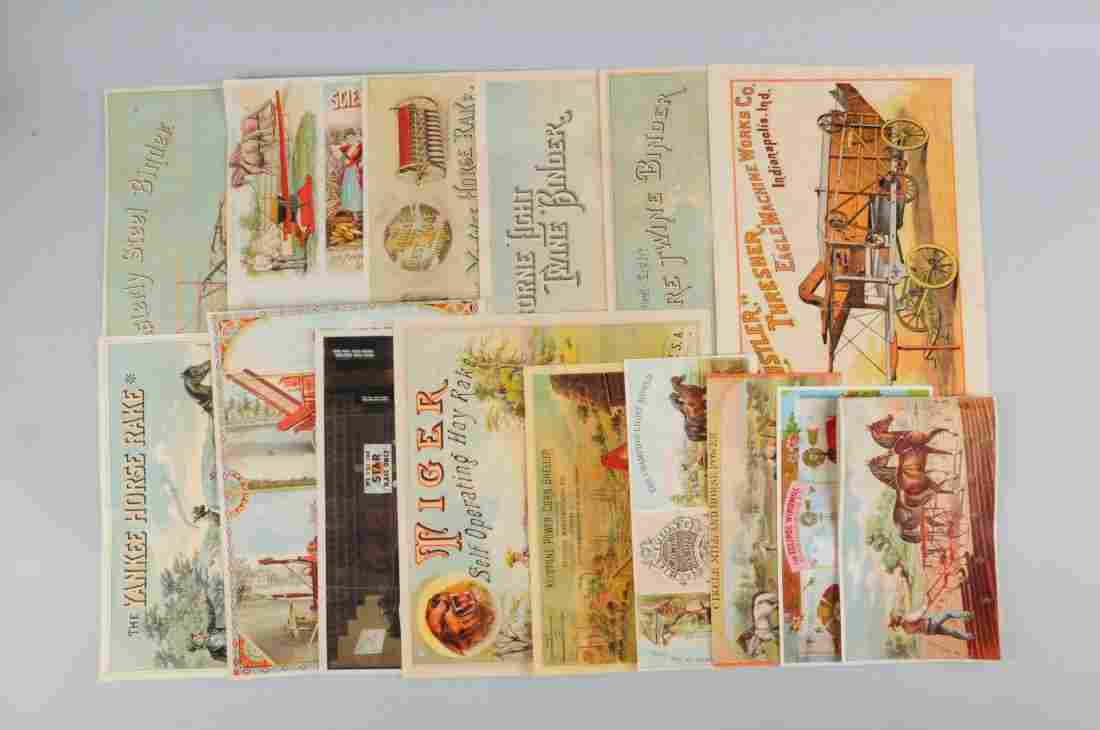 Lot of 15: Agriculture Related Brochures.