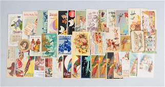 Lot of 25 Asstd Food  Agriculture Trade Cards