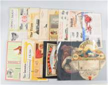 Lot of 10+: Early Agriculture Advertising Pieces.