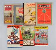 Lot Of 7: Farming Machinery Catalogs.