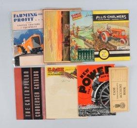 Lot Of 8: Farming Machinery Catalogs.