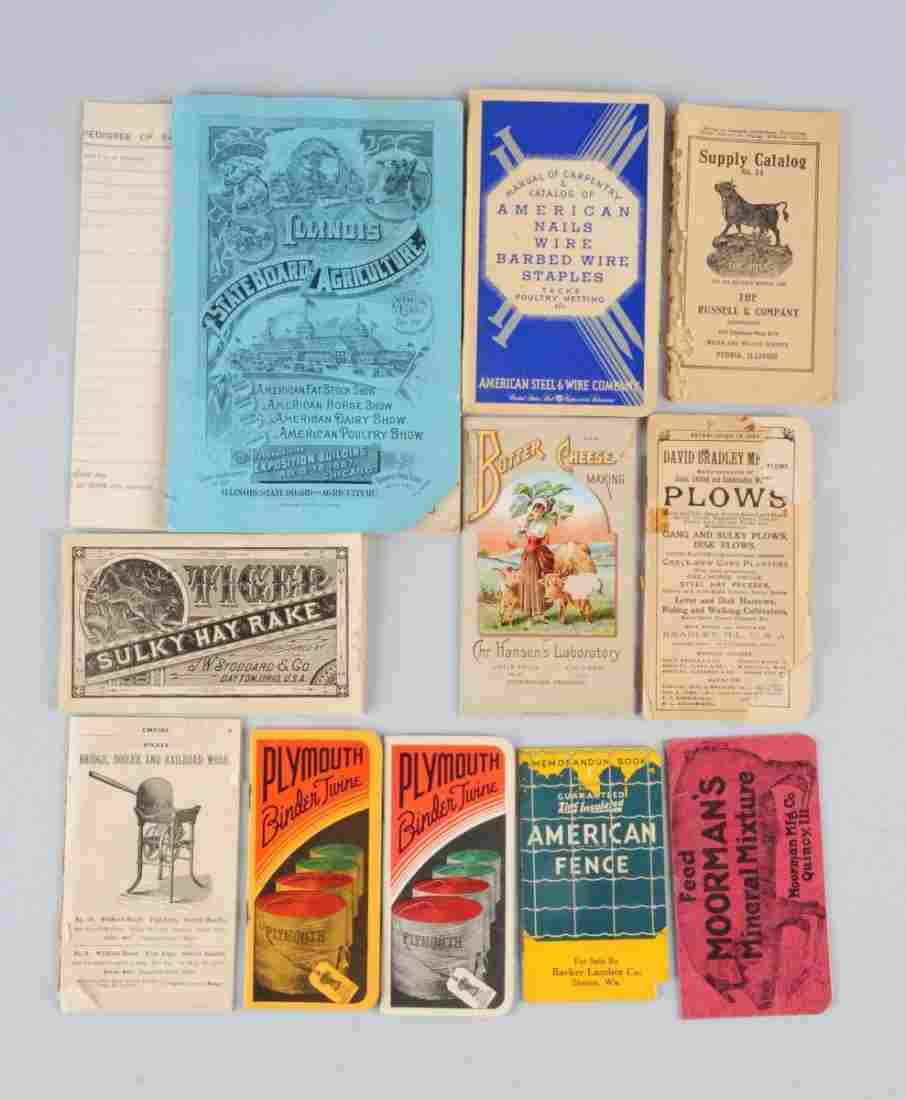 Lot Of 11: Farming Machinery Brochures.