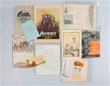 Lot Of 11: Farming Machinery & Implement Catalogs.
