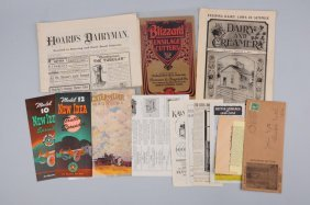 Large Lot Of Farming Catalogs.