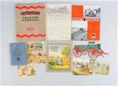 Lot Of 6: Farming Machinery Catalogs.