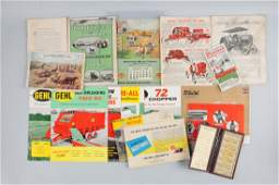 Large Lot Of Farming Machinery Catalogs.