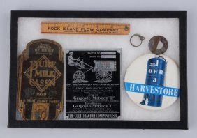 Lot Of 6: Agriculture Related Advertising Pieces.