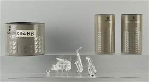 Lot Of 3 Swarovski Crystal Pieces