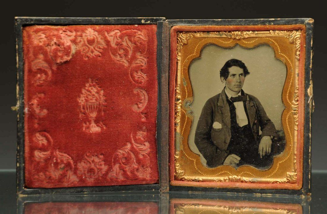 Ambrotype of Young Man.