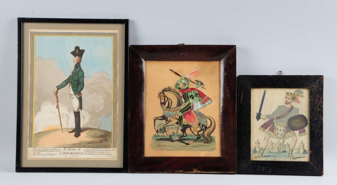 Lot Of 3: Framed Prints.