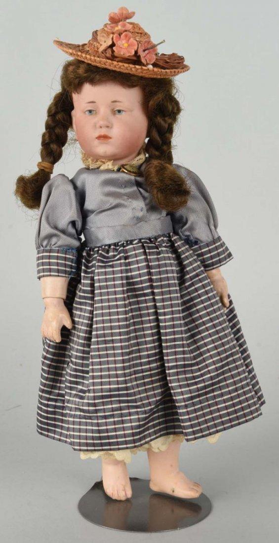 "Antique German K & R Bisque Head #101 ""Maria""."