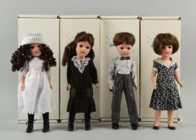 Lot Of 4: Boxed Contempory Mary Hoyer Dolls.