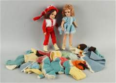 Lot of 2: Vintage Composition Mary Hoyer Dolls.
