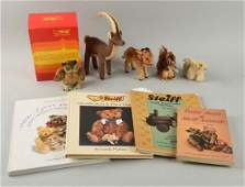 Lot of 8 Small Steiff Animals  Books
