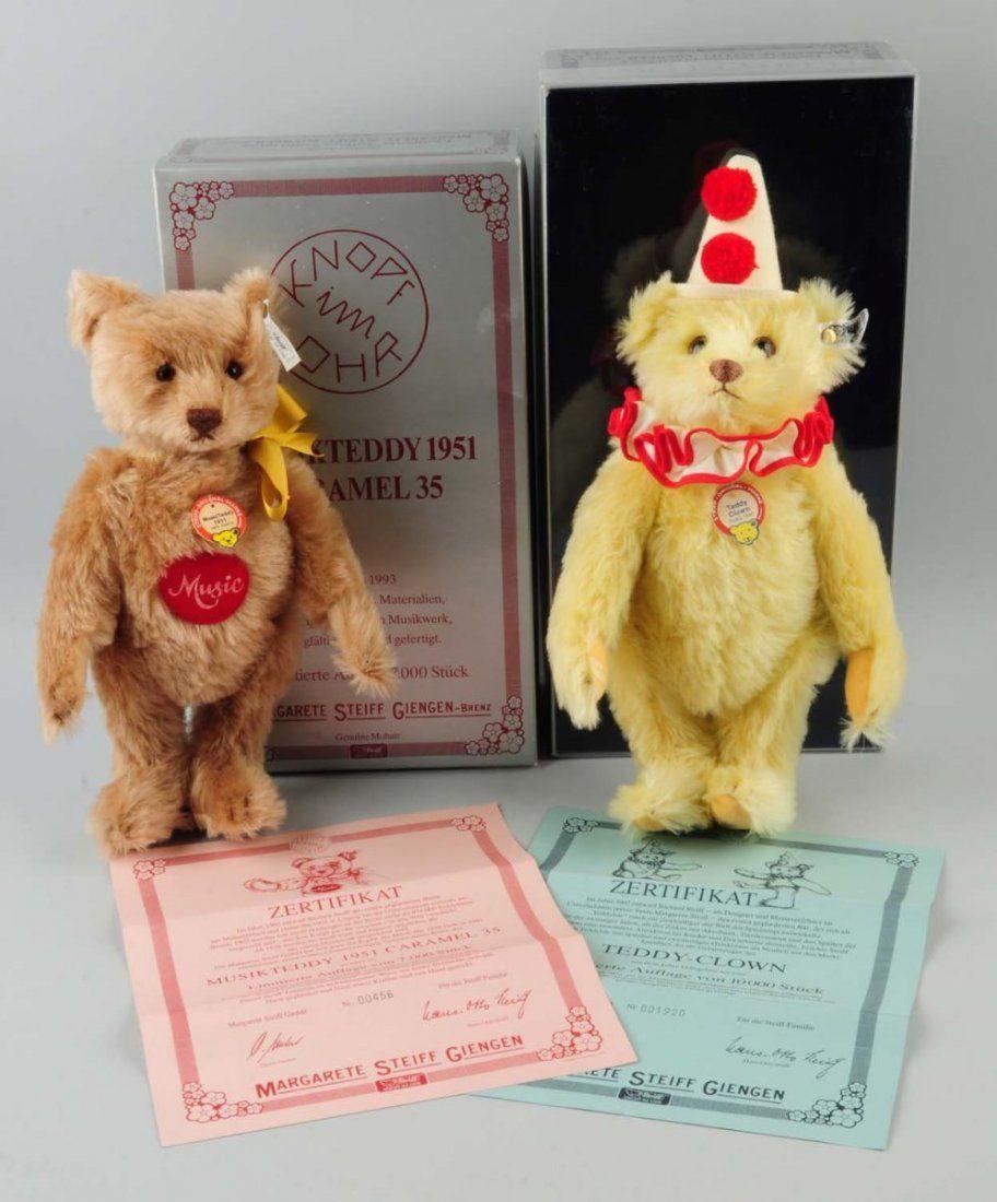 Lot Of 2: Steiff Teddy Bears