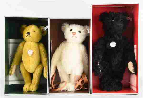 Lot Of 3: Steiff Teddy Bear.