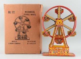 Chein Tin Mechanical Ferris Wheel No. 172.