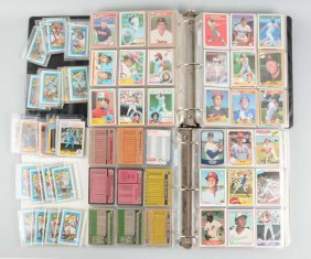 Large Lot Of Assorted Baseball Cards.