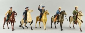 Lot Of 5: Hartland Plastic Figures.