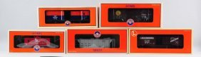 Lot Of 5: Lionel Freight Cars.