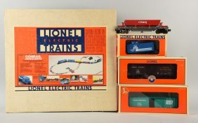 Lot Of 4: Lionel Conrail Freight Set & Other Cars.