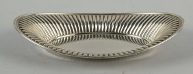 Sterling Silver Bread Tray.