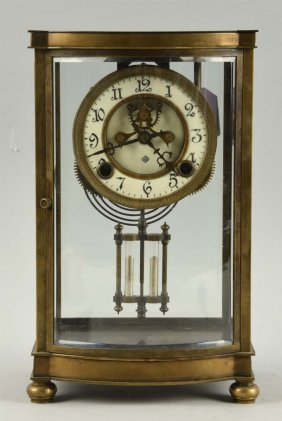 Crystal Regulator By Ansonia Clock Company.
